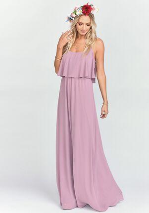 e0ecf07001b Show Me Your Mumu. Caitlin Ruffle Maxi Dress - Antique Rose Chiffon