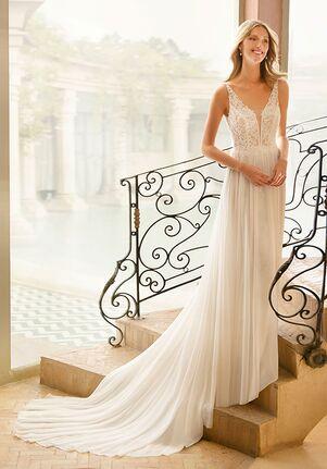 Rosa Clará Soft Regis Sheath Wedding Dress