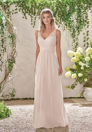 B2 Bridesmaids by Jasmine B193001 V-Neck Bridesmaid Dress