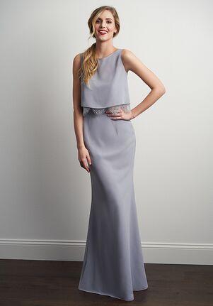 JASMINE P206058 Bateau Bridesmaid Dress