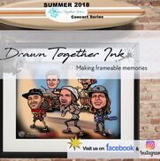 Midlothian, VA Caricaturist | Caricatures by DrawnTogetherInk