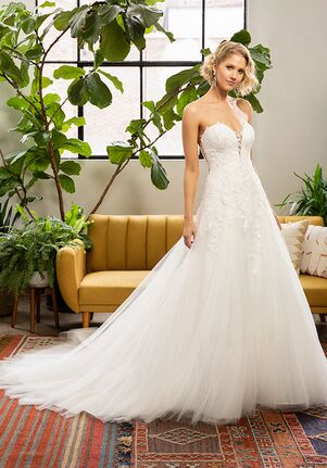 Beloved by Casablanca Bridal BL325 Miley A-Line Wedding Dress