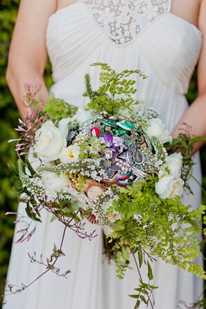 Ethereal, Woodsy Unruly Brooch Bouquet