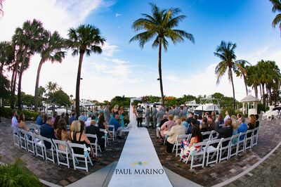 Out of the Blue Waterfront Weddings