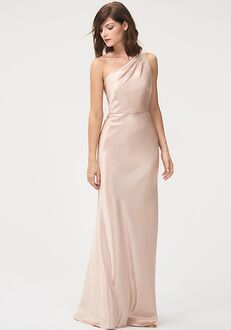 Jenny Yoo Collection (Maids) Lena One Shoulder Bridesmaid Dress
