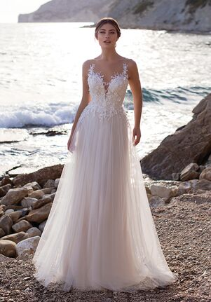 WHITE ONE ESSENTIALS BETHANY Ball Gown Wedding Dress