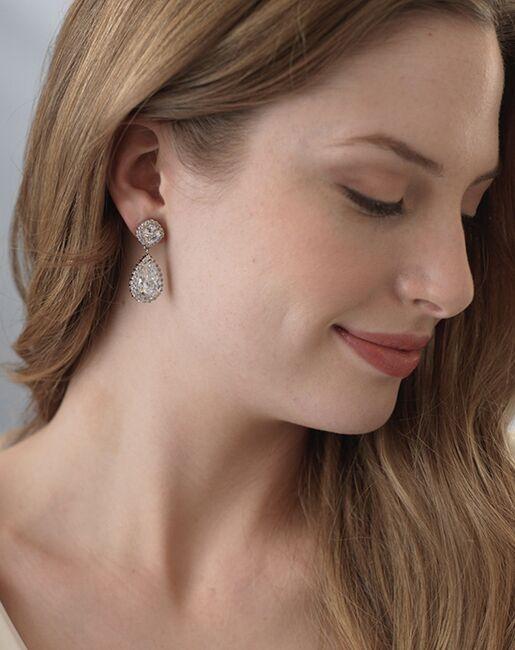 USABride Allure CZ Wedding Earrings (JE-1142) Wedding Earrings photo