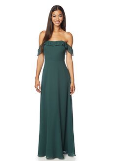 #LEVKOFF 7123 Off the Shoulder Bridesmaid Dress