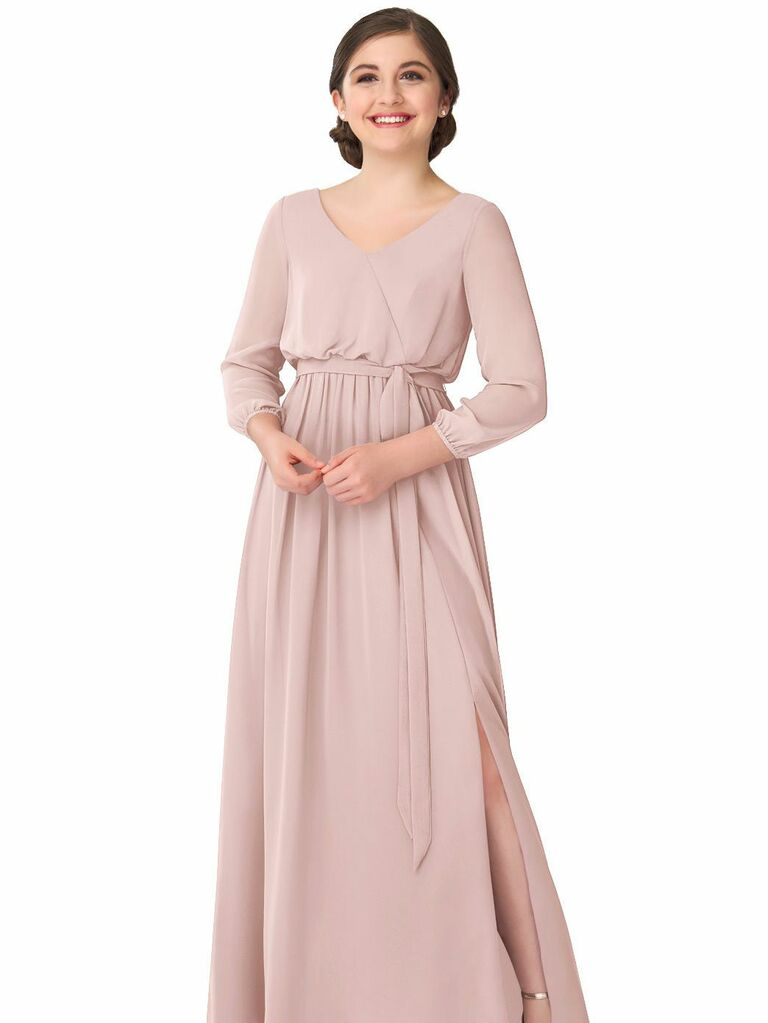 Popular Bridesmaid Dresses with Sleeves