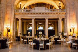 Formal Ballroom Reception Dining Tables
