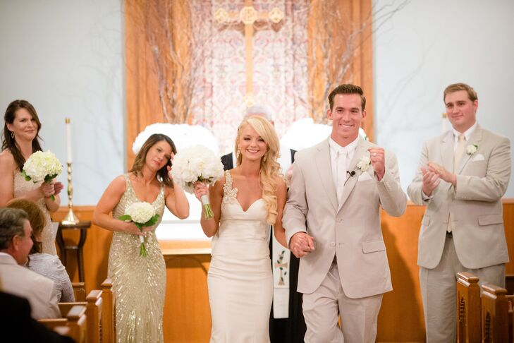 Shelby and Mark Recessional
