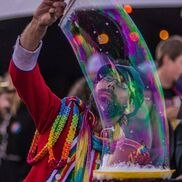 Oakland, CA Circus Act | Magic Bubbles and Balloons