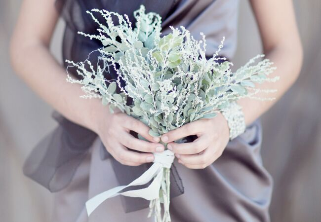 Simple bridesmaid boquet
