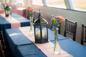 Lantern Centerpiece With Candle