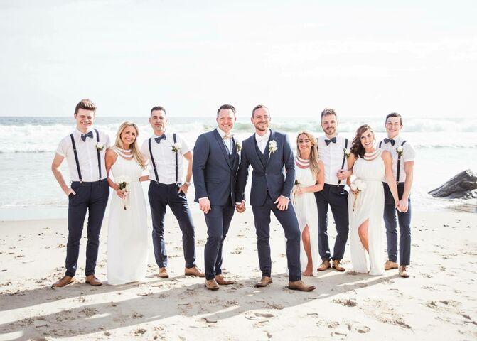 The Bay Gift Registry Wedding: Malibu West Beach Club