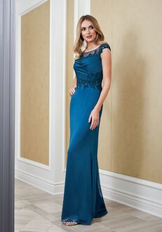 Jade Mother of the Bride by Jasmine J215062 Blue Mother Of The Bride Dress