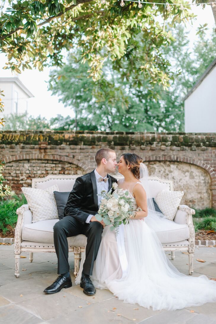 Exactly a year after they legally tied the knot, Jennifer Skinner (27 and a lawyer) and Benjamin Bingham (27 and a military officer) celebrated their