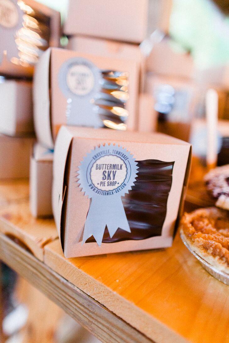 Mini Pie Wedding Dessert