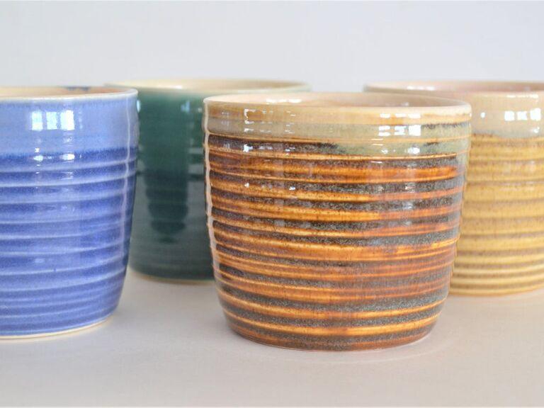 Copitas de Mezcal ceramic whisky glass set of 4