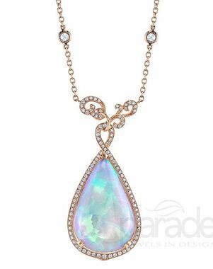 Parade Designs N3403 from the Parade in Color Collection Wedding Necklace photo