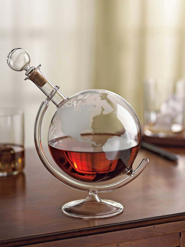 Wine Enthusiast Whiskey Decanter Best Gift For Husband
