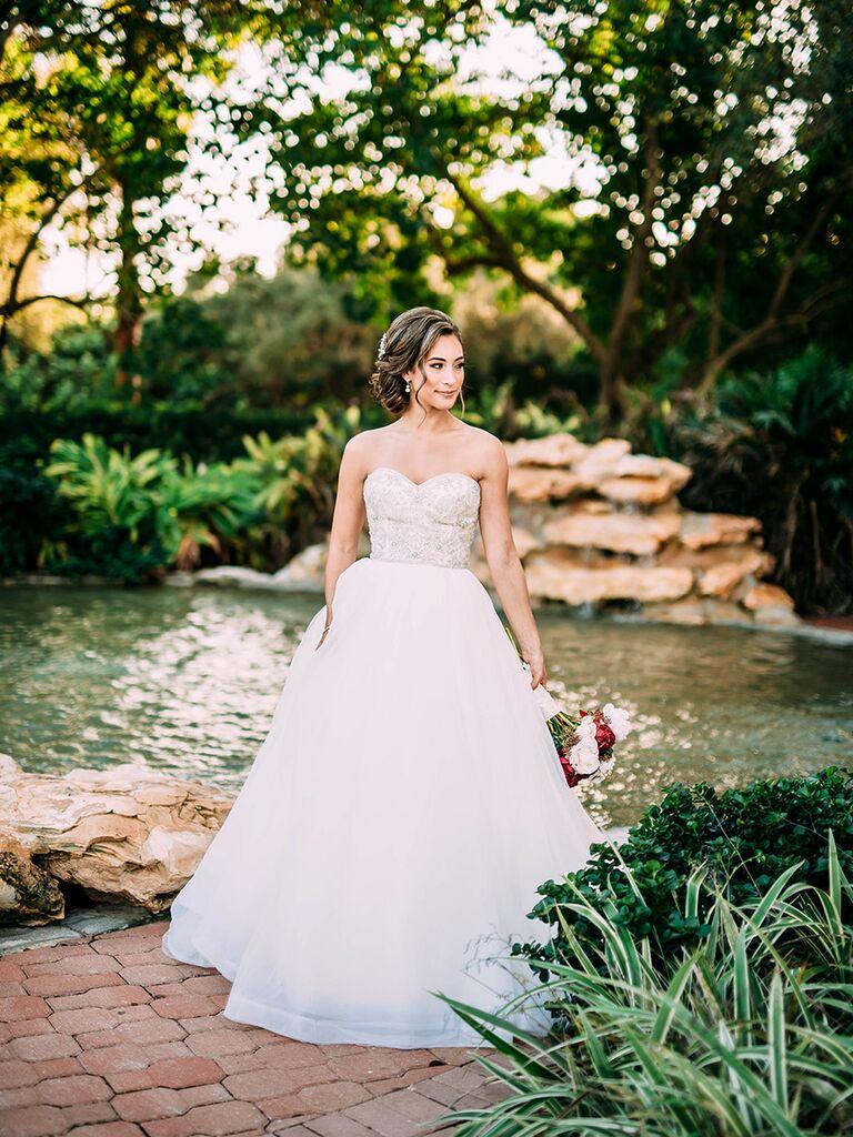 Classic wedding dress timeless ball gown