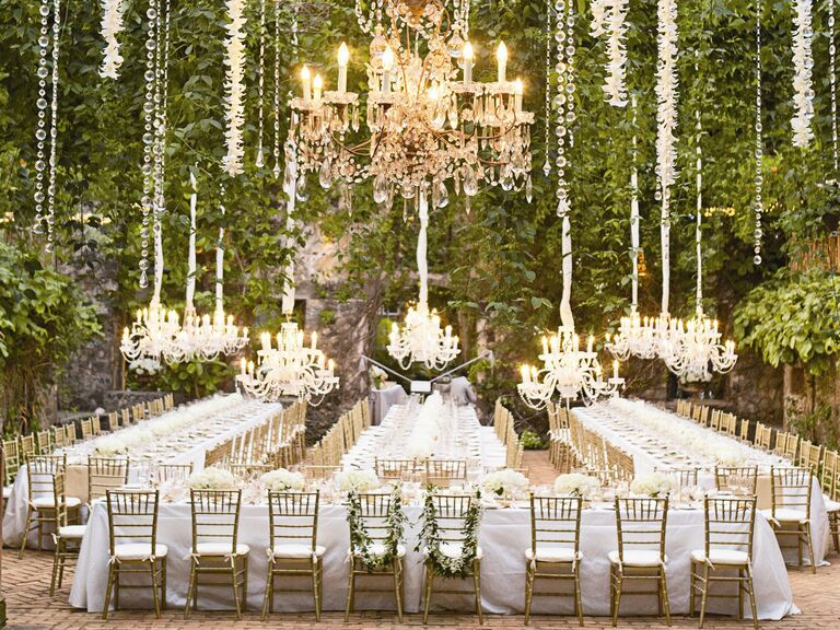 Merveilleux Outdoor Wedding Reception