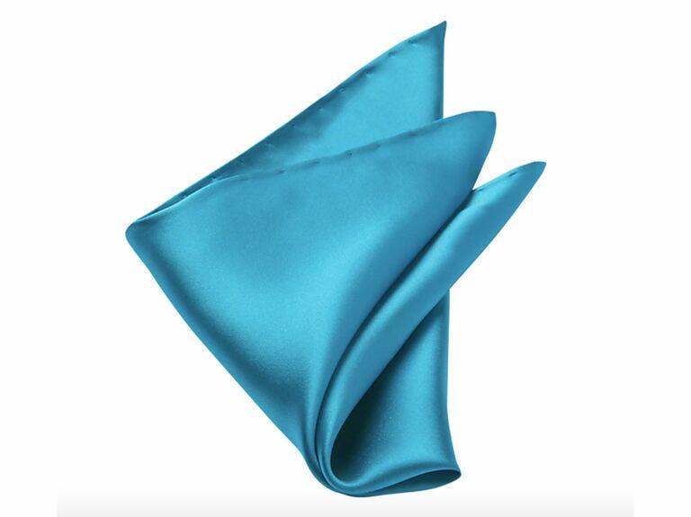 Colorful silk pocket square