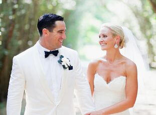 The Bride Kate Miller, 29, co-principal of Dress Your Guests The Groom Kevin Brennan, 31, works in sales and trading at Sterne Agee The Date June 30