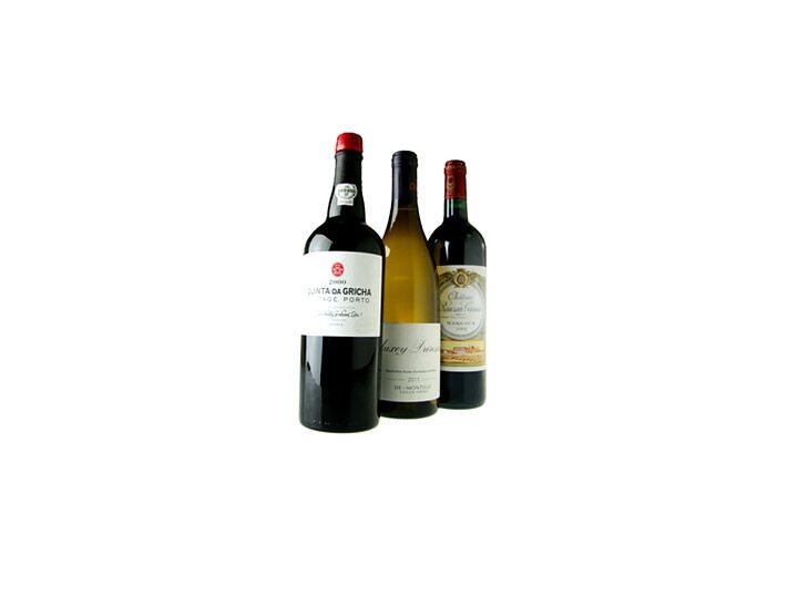 Wine trio wedding registry