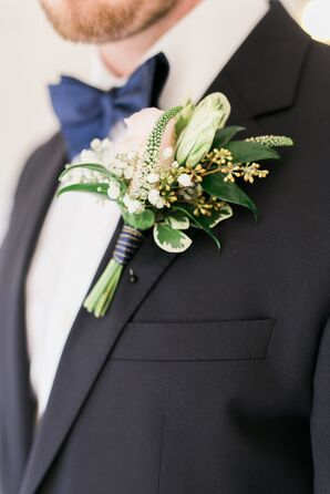 Veronica and Rose Boutonniere