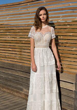Metropolitan ME131 A-Line Wedding Dress