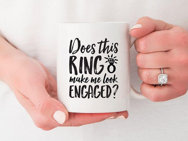 ring coffee mug
