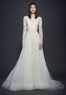 Lazaro 3709 A-Line Wedding Dress