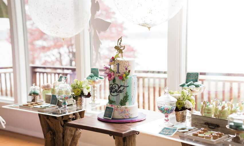 Tinkerbell party themed inspiration and ideas