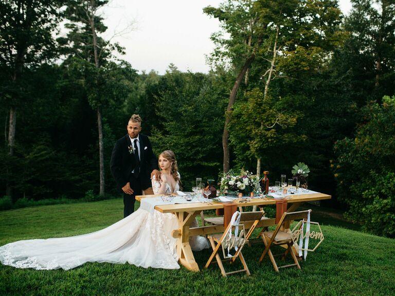 Wedding venue in Rogers, Kentucky.