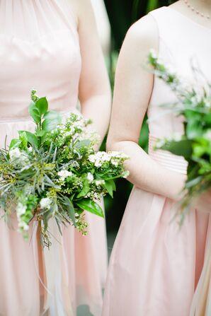 Bohemian Mixed Greenery Bouquets