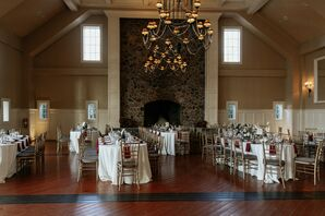 Cozy Reception Space at The Ryland Inn in Whitehouse Station, New Jersey