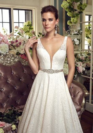 Mikaella 2167 A-Line Wedding Dress