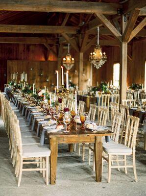 Rustic Dinner Reception