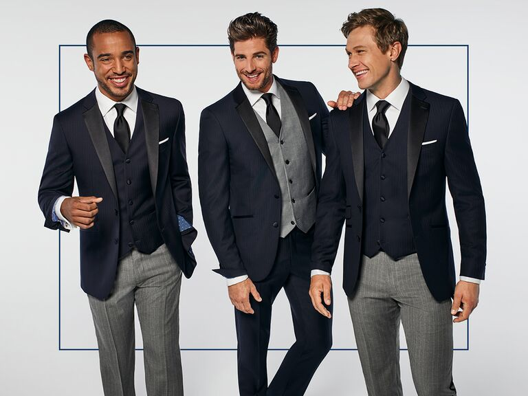 d270fab97 Groom and Groomsmen Mismatched Looks