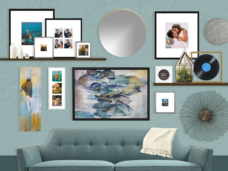 How To Turn Your Wedding Photos Into A Gallery Wall