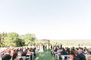 Outdoor Ceremony at Red Maple Vineyard