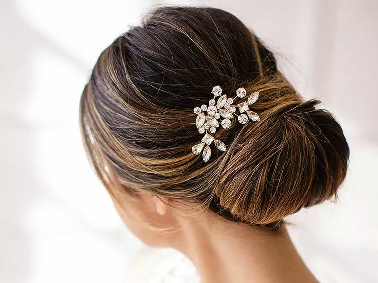 f4e70410d Brides and Hairpins Caprice crystal comb - wedding hair accessories