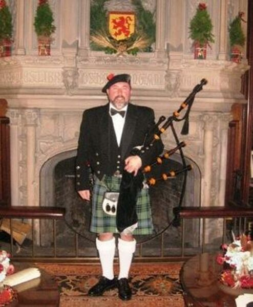 Piping at NJ Governor's Mansion