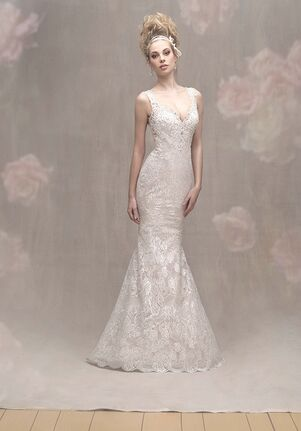 Allure Couture C462 Sheath Wedding Dress