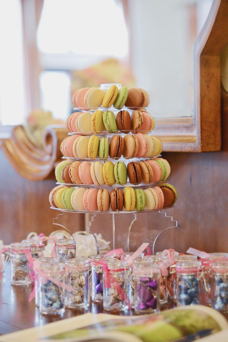Pastel Macaron Tray