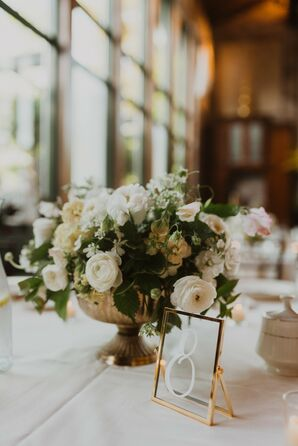 Classic and Traditional Centerpiece for Wedding in Hartford, Connecticut