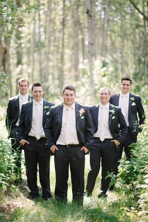 Black Suits and White Ties