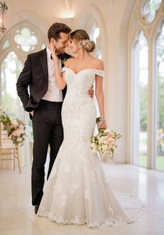 Stella York 6496 Mermaid Wedding Dress